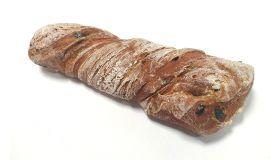 ZERO Olivový chrumkavý chlebíček, upečený do hotova, rýchlozmraz